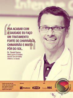 Campanha para Grupo RBS sobre gaúchos que morarm fora do RS, na Semana Farroupilha.