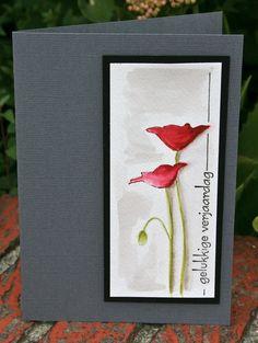 elke's blog watercolor poppies