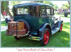 1929 Ford Model A Sedan | 1929 Ford Model A Town Sedan | Flickr - Photo Sharing!