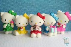 Hello Kitty porcelana fria