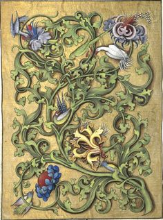 (f°16v) -- Horae ad usum Parisiensem («Heures de Charles d'Angoulême»), France, 1475-1500 (1466?) [BNF Ms Latin 1173 - ark:/12148/btv1b52502694t]