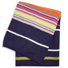 This throw is cozier than your favorite sweater. Add some colorful punctuation to your sofa. Dimensions X Knit Stripe Throw by Jonathan Adler. Home & Gifts - Home Decor - Pillows & Throws Texas Alpaca Blanket, Baby Alpaca, Mid Century Modern Furniture, Luxury Furniture, Bold Colors, Home Gifts, Linen Bedding, Throw Pillows, Decor Pillows