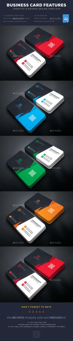 Business Card - Business Cards Print Templates Download here : https://graphicriver.net/item/business-card/17242823?s_rank=39&ref=Al-fatih