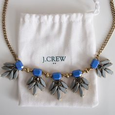 Jcrew necklace Gorgeous Jcrew necklace. Versatile colors make it easy to style. Offers welcomed. J. Crew Jewelry Necklaces