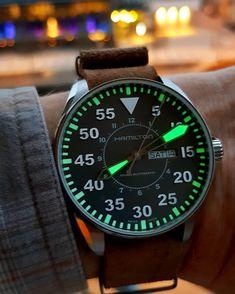 """294 Gostos, 8 Comentários - Janos Markovics (@janmarco_888) no Instagram: """"Hamilton Khaki Flieger #hamiltonkhaki #hamiltonwatch #hamiltonwatches #swisswatches #watches…"""""""