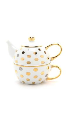 cute little ikat polka dot tea for one cup and pot http://rstyle.me/n/t9j5rr9te