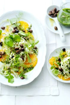 Healthy Salads, Wok, Vinaigrette, Cobb Salad, Side Dishes, Curry, Appetizers, Snacks, Ethnic Recipes