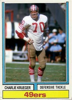 Charlie Krueger San Francisco 49ers