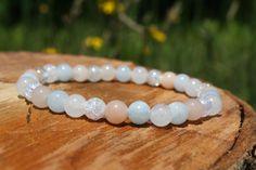 Clear Quartz Crystal, Rose Quartz, Lucky Symbols, Rainbow Quartz, White Jade, Crystal Meanings, Red Jasper, Just For You, Beaded Bracelets