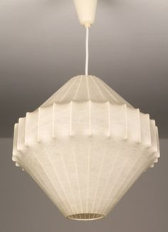 Achille Castiglioni Losange Cocoon Chandelier Pendant Lamp | From a unique collection of antique and modern chandeliers and pendants  at https://www.1stdibs.com/furniture/lighting/chandeliers-pendant-lights/