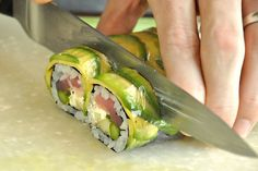 Homemade Sushi! Great tutorial with recipes for various sauces like ponzu and eel sauce.