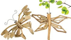 Grasslands Road Driftwood Hanging Decoration, 16-Inch, Butterfly and Dragonfly, 4-Pack Grasslands Road http://www.amazon.com/dp/B00JXL5CT6/ref=cm_sw_r_pi_dp_Qfaewb19N13MS