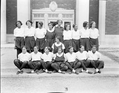 Women's Sports Team, Howard University   1930s  Women's Sports Team, Howard University,1930s. Addison Scurlock, photographer.    Source: Scurlock Studio Records, Archives Center, National Museum of American History, Smithsonian Institution