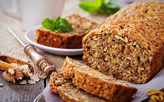 Nutritional Docs Bread & Roll Recipes for a Healthy Way of Life - Eat Recipes Bread N Butter, Meatloaf Recipes, Rolls Recipe, Superfood, Banana Bread, Clean Eating, Low Carb, Food And Drink, Nutrition
