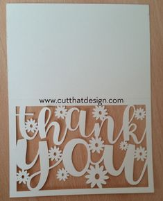 Cut That Design provides a large selection of Free SVG Files for Silhouette, Cricut and other cutting machines. Available in SVG, DXF, EPS and PNG Formats. Photo Thank You Cards, Free Thank You Cards, Silhouette Cameo Cards, Silhouette Studio, Silhouette Machine, Silhouette Files, Free Svg, Cricut Tutorials, Cricut Ideas