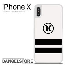 Hurley Black Strip For iPhone X
