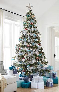 Árvore de Natal em b