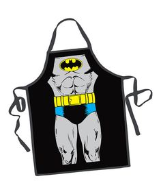 Black Batman Apron. I must buy one!
