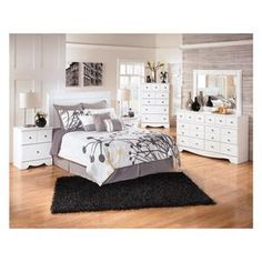 weeki 5piece queen bedroom set in white nebraska furniture mart