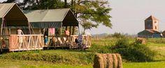 Safaritenten op Domain Les Gandins