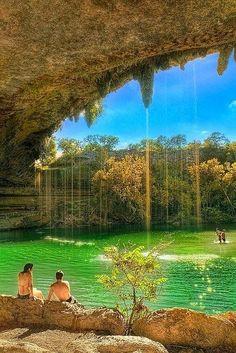 The lagoon - Hamilton Pool, Texas