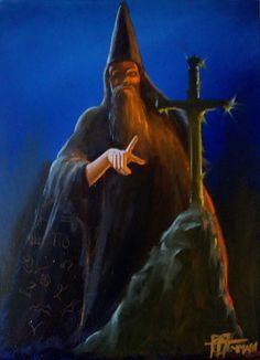 merlin | En la ribera de la noche plutónica: El mago Merlín
