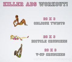 killer abs!