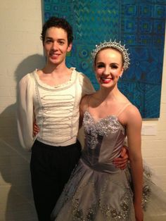 James Lyttle (Guest Artist) and Ariana Hond in Paul Boyd's Polar Express - Queensland Ballet?