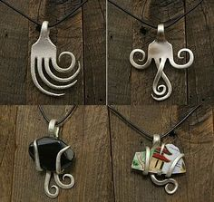 13. Fork Pendants | 30 Quirky Ways To Use Your Utensils