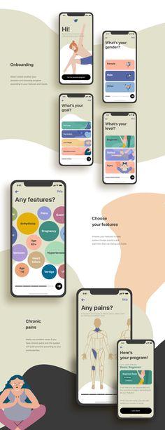 Web Design, App Ui Design, Mobile App Design, Habit App, Habit Tracker App, Poster Design App, Onboarding App, Wireframe Design, Card Ui