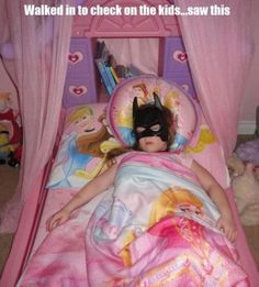 Princess Batman. Doing it right.