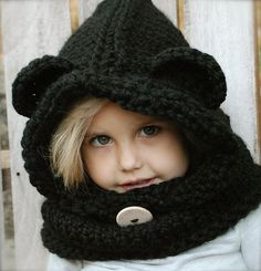 Ravelry: The Burton Bear Cowl pattern by Heidi May