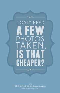 10 Things Photographers Are Tired Of Hearing