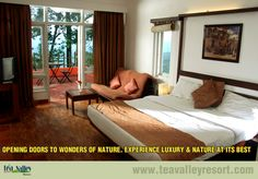 At Tea Valley Resort, luxurious stay with excellent hospitality and proximity to nature are guaranteed.