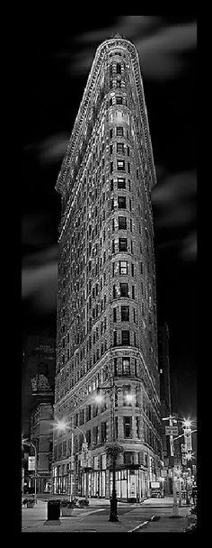 "Cool architecture!  ""Flat Iron"", New York"