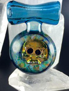 "Tim Keyzers ""Skullscape"" Pendant $ 185"