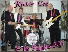 September 12-14th Northwest Bank Stage Richie Lee & The Fabulous '50s ('50s & '60s Rock)