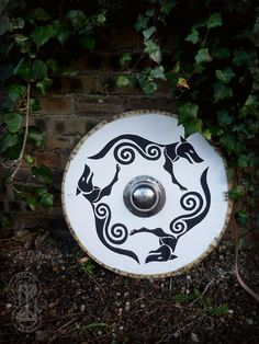 Pictish wolf shield