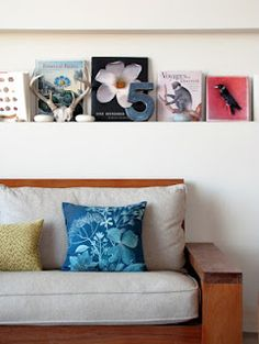 art above couch