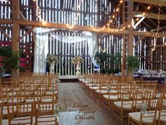 Cambium Farms Caledon Ontario Set Up And Ready To Go Wedding VenuesWedding