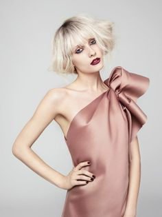 Rocker Glam by Antonio Corral Calero #hair #hairdressing #hairstyling #beauty -- See more on http://www.salonmagazine.ca