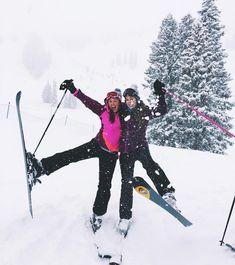 (notitle) - Mountains are calling - - Fotoideen - Ski Snow Pictures, Cute Pictures, Best Friend Goals, Best Friends, Ski Bunnies, Ski And Snowboard, Snowboarding, Ski Ski, Ski Season