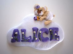 ♥♥♥ Para a Alice... | by sweetfelt \ ideias em feltro
