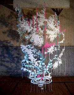 Chris Natrop cut paper installations