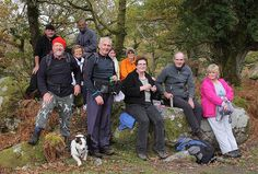 Group in Killarney woods.  2nd November 2008