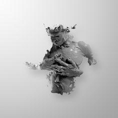"Viralmente: Alejandro Maestre Gasteazi - ""El hombre que se crea"". Portrait of Julian Canovas-Yañez"