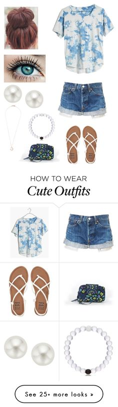 """Cute summer outfit"" by agrava on Polyvore featuring Madewell, Billabong, Pearlyta, Ippolita and Vera Bradley"