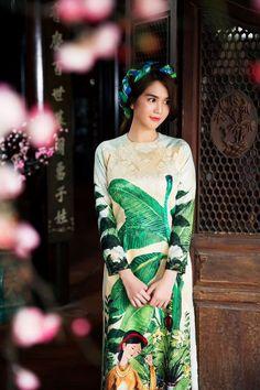 (2Sao) – Hàng loạt sao Việt khoe sắc với áo dài truyền thống nhân dịp Tết đến…