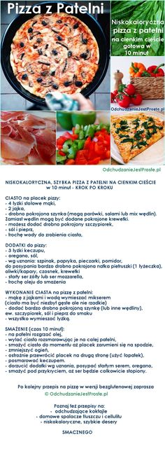 Pizza, Cantaloupe, Recipies, Food And Drink, Healthy Eating, Beef, Fruit, Cooking, Simple