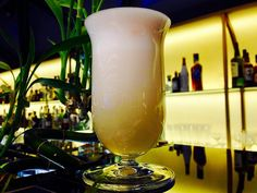 """PISCO SOUR 1903 Lima Peru Victor Morris / Morris's Bar --- #worldbestbar#amazing#beautiful#classic#cocktail#piscosour#bar#bartender#bestjob#moscow#instagood#instagram#instachoose#top#москва#коктейль --- 5 clPisco 2.5 clFresh lime juice 2.5 clSugar syrup 1 cl  egg white  Three drops Angostura bitters on top --- M: Shake and strain G: """"Sour"""" glass by alexey_proshkin"""